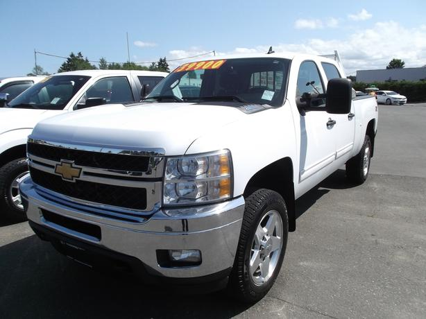 2011 chevy crew cab 2500 diesel 4x4 for sale outside nanaimo nanaimo. Black Bedroom Furniture Sets. Home Design Ideas