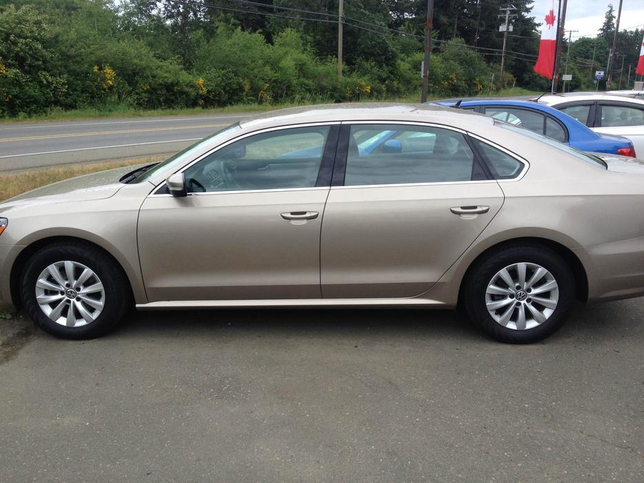 Beige Loaded 2015 Volkswagen Passat Trendline Outside