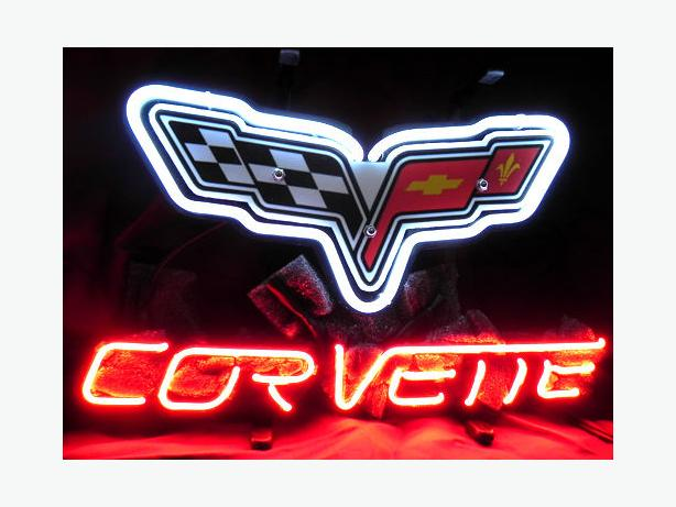 New Corvette neon sign