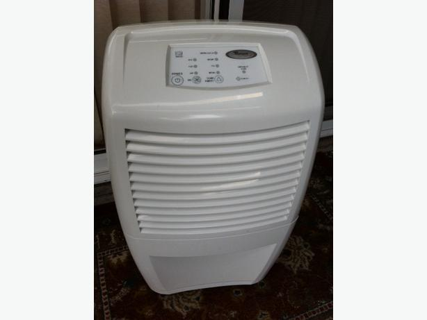 Whirlpool Gold Dehumidifier 50 Pint Accudry Model Ad50usv