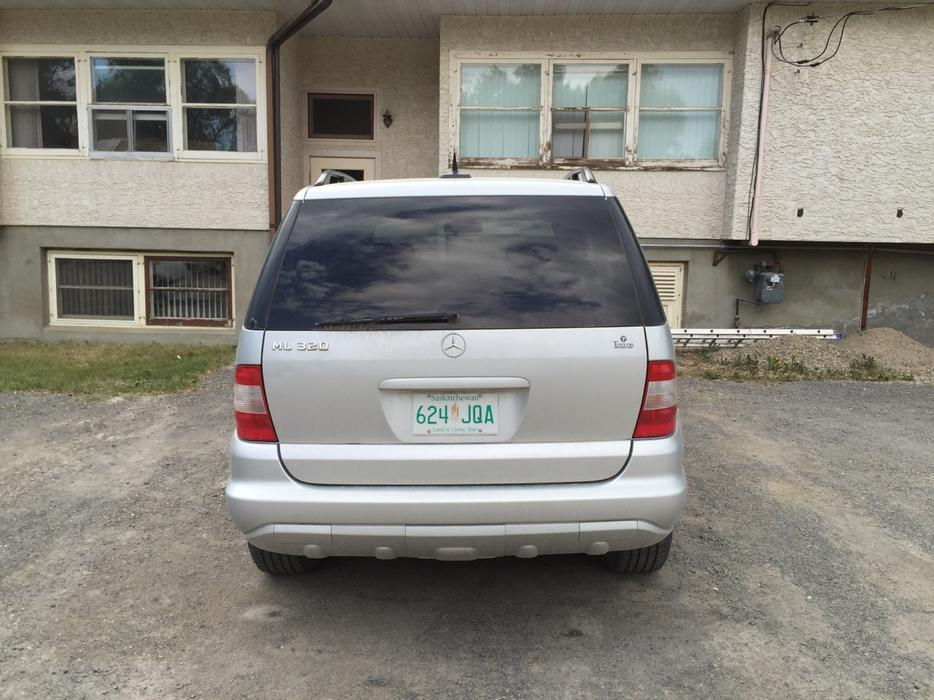 2002 mercedes benz m class suv east regina regina for Mercedes benz bay ridge
