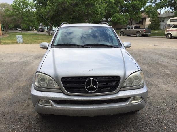 2002 mercedes benz m class suv east regina regina for Mercedes benz suv 2002