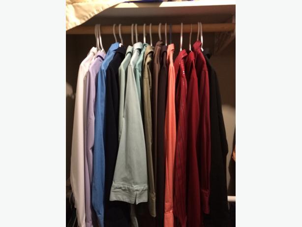 L/S & 3/4 sleeve dress shirts