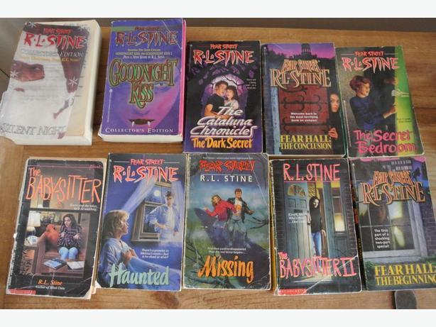 R L Stine books