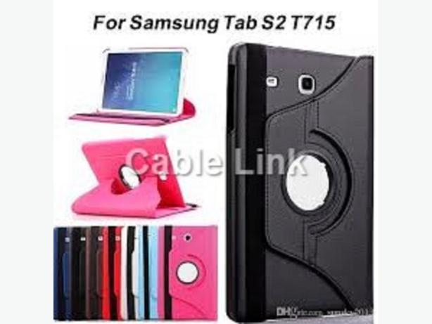 "360° Rotating Flip Stand Case for Samsung Tab S2 8"" T710 T715"