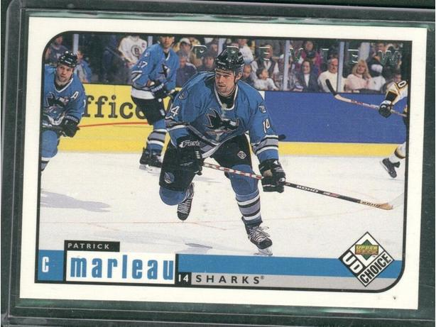 San Jose Sharks Patrick Marleau Promo Card
