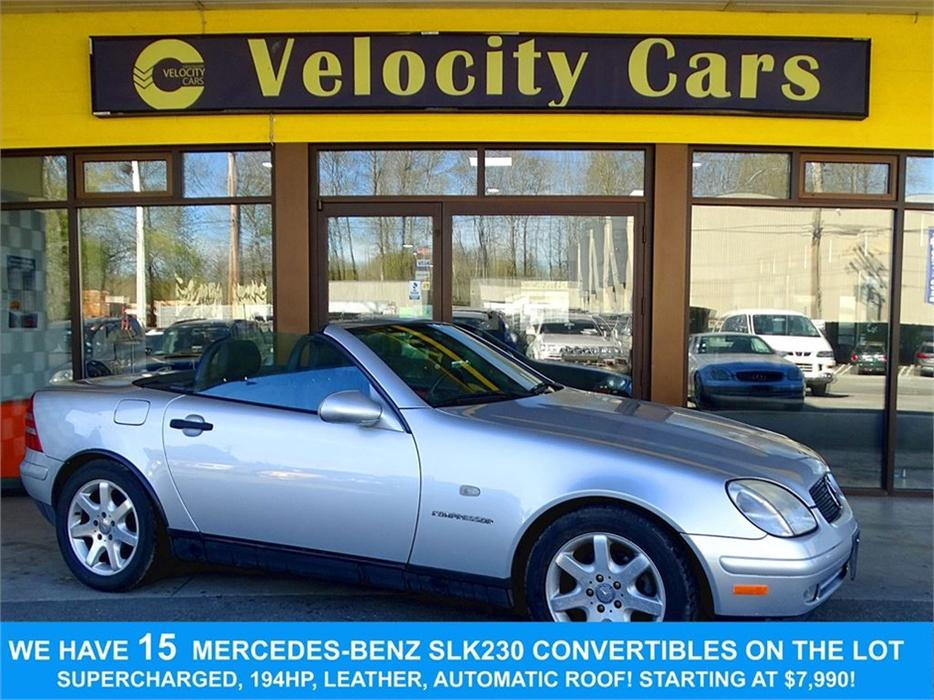 1999 mercedes benz slk class slk230 convertible 44k 39 s for 1999 mercedes benz slk 230 hardtop convertible