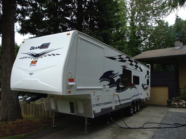 39.5 Gearbox fifth wheel 2008