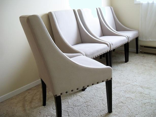 4 Gorgeous Homesense Nailhead Dining Room Chairs Can Deliver Rideau Township Ottawa