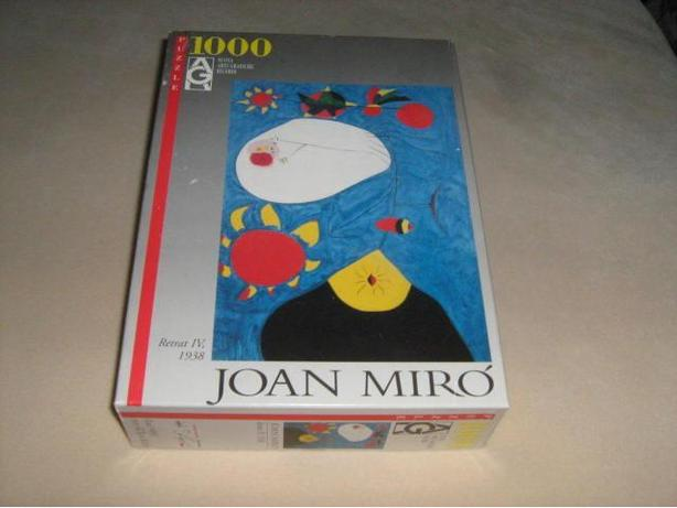 JOAN  MIRO  1000  PIECES  JIGSAW  PUZZLE