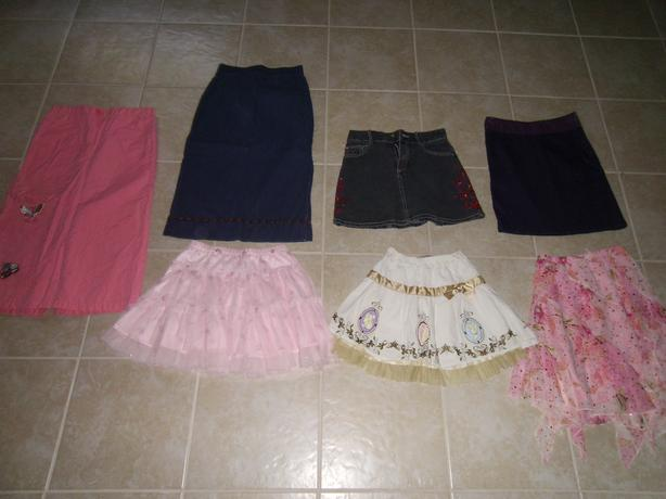 Wardrobe for Girl Clothes Sizes 7/8