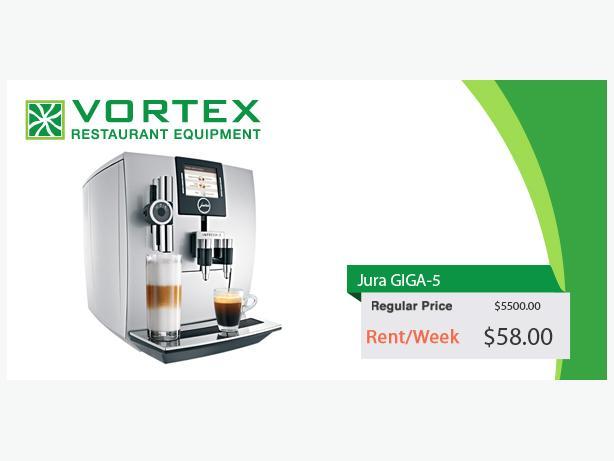 Jura Giga 5 Automatic Espresso Machine With Two Bean