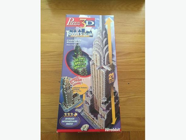 3D Puzzles by Wrebbit