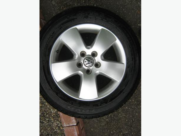 Honda/VW Jetta rims and tires for sale
