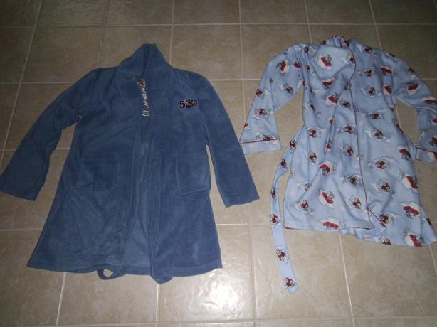 Boys Robes and Pyjamas Size 12-14