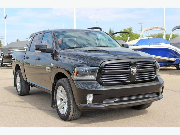 2015 Ram 1500 Sport Crew Cab*Back Up Camera-Navigation*