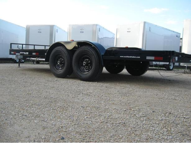 2017 Southland 18ft. Tandem Axle Trailer with Slide-in ramps - 14000K