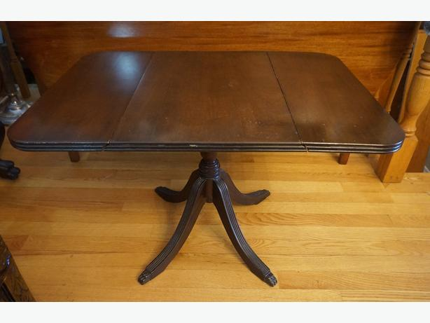 4U2C DUNCAN FIFE DROP LEAF SMALL TABLE