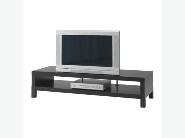 Ikea LACK TV Bench - Black - Brown
