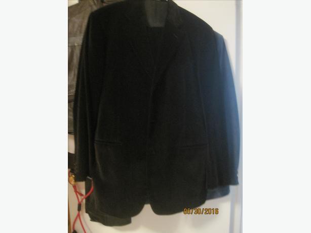 Black Velvet Custom Made Suit