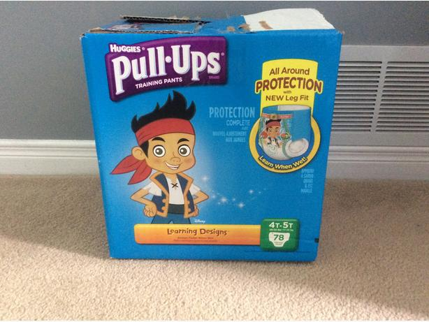 Huggies Pull up training pants