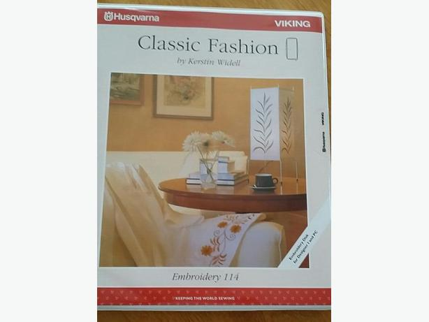 NEW Husqvarna Machine Embroidery Card (REDUCED)