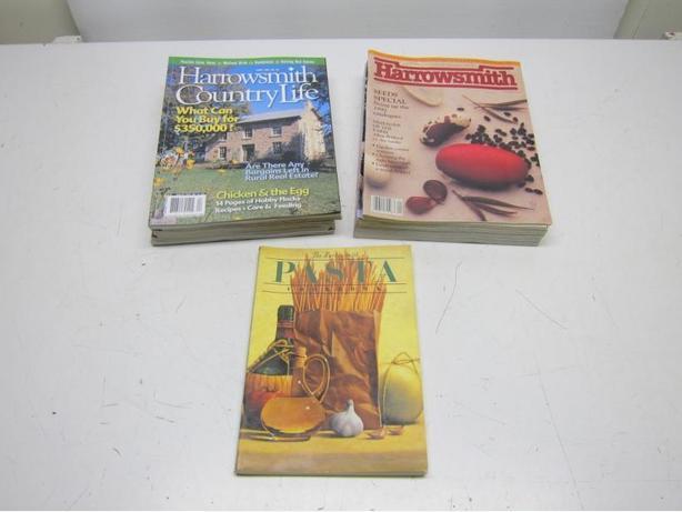 Harrowsmith Magazines & Pasta Book