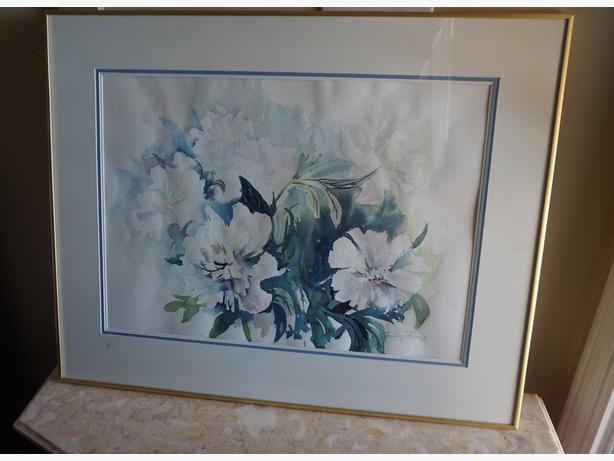 4U2C WATER COLOR BY AUDREY ROSS OTTAWA KNOWN ARTIST