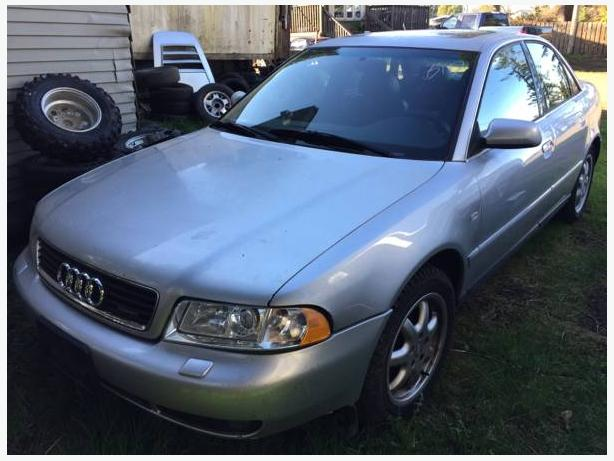 1999 Audi A4 for parts fully loaded 2.8l v6 engine