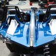 2016 BLUE FIRE POLARIS SLINGSHOT