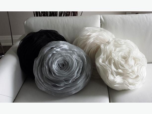 Designer Rosette Pillows