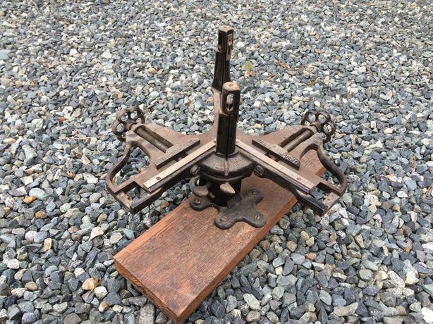 OBO - Antique Picture Framing Miter Jig and Saw Cobble Hill, Cowichan