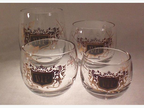 VIP boxed glassware set