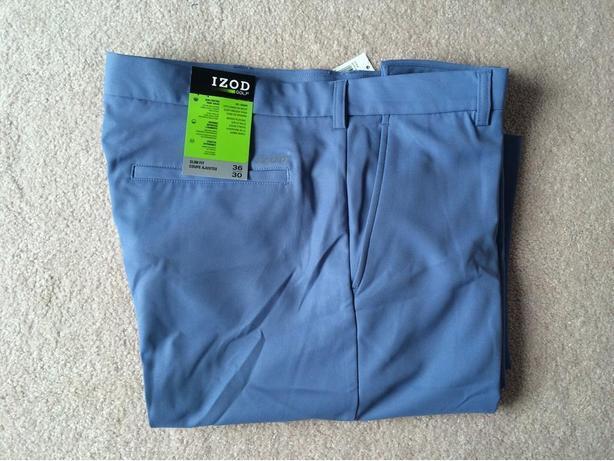 New IZOD Men's Golf Pants