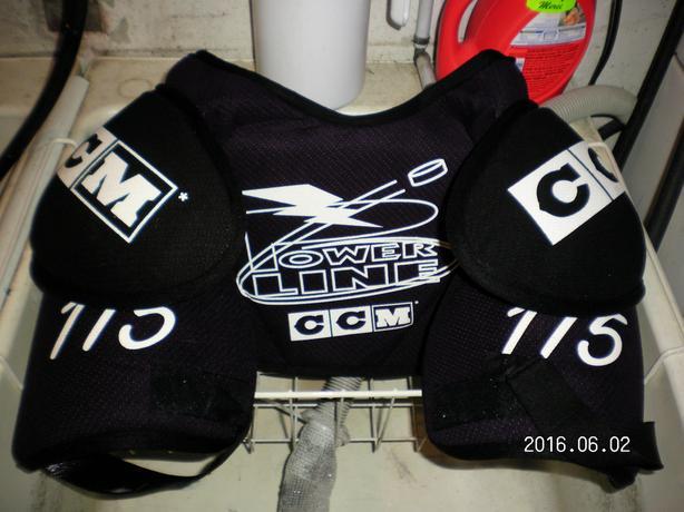 Used Hockey Shoulder Pads
