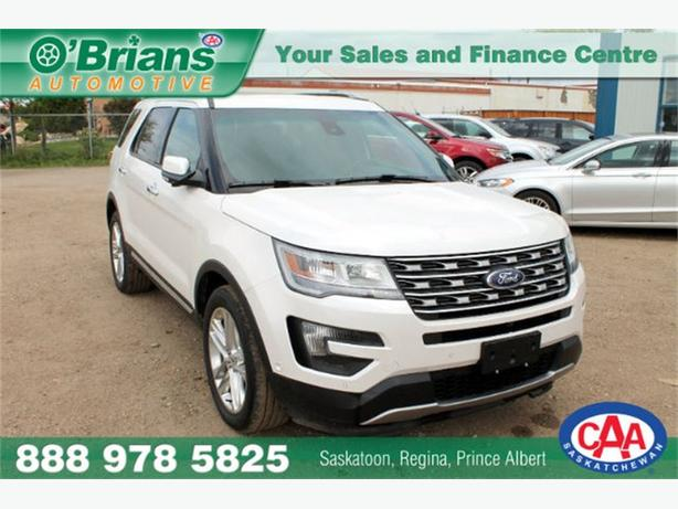 2016 Ford Explorer Limited - 4x4 7 PASS HTD/AC SEATS LEATHER
