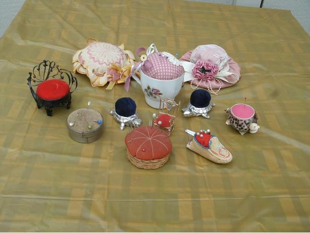 Closing Sale! Pin cushions / Hat / moccasins / Cup / Turtle pin cushion
