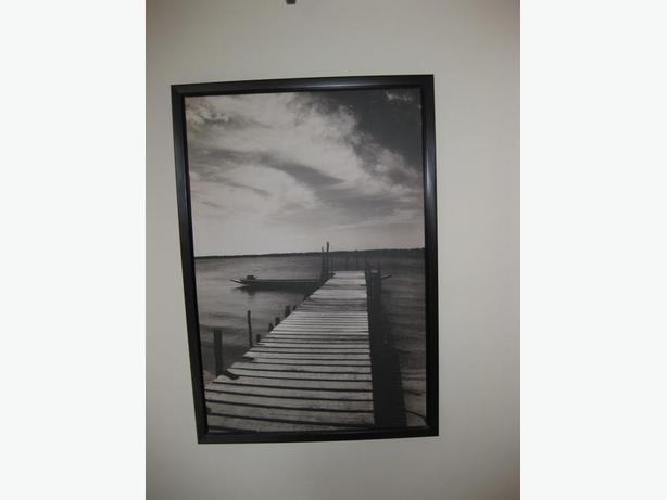 Large Framed Dock Print