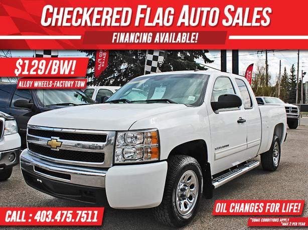2010 Chevrolet Silverado 1500 LS W/ Alloy Wheels-Factory Tow-Step Rails