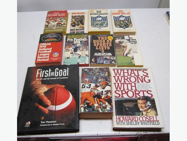 Old Football Books