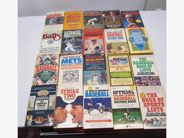 Old Baseball Books