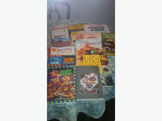 Cook Books Collection (approx 20)