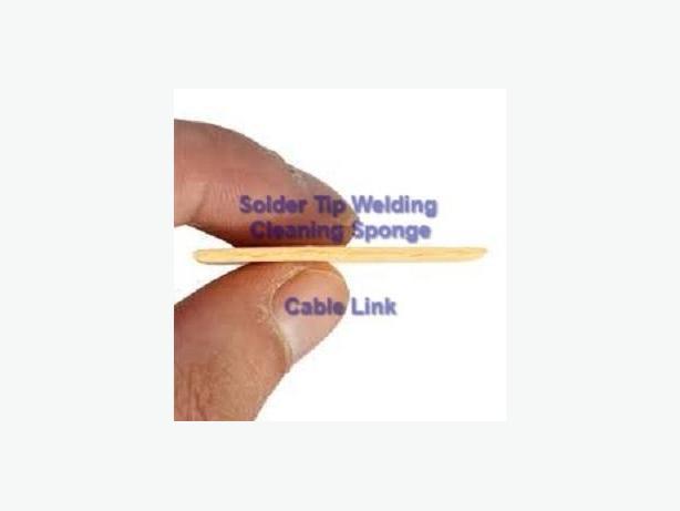 Soldering Iron Solder Tip Welding Cleaning Sponge