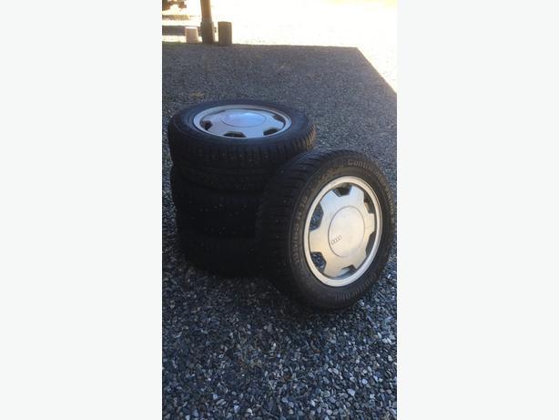 Audi - 4 winter tires & rims