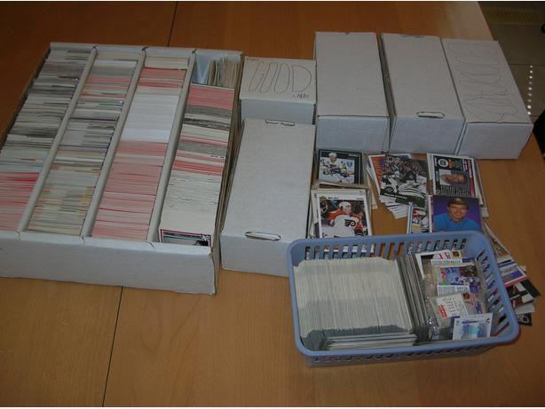 Hockey Cards Huge Lot 5800 pc