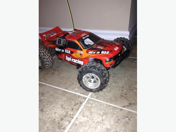 Nitro powered RC car