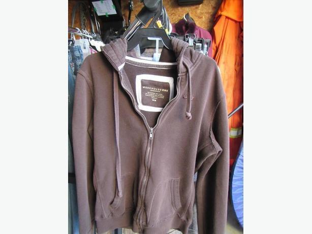 Warehouse 1 Brown Hoody size Medium