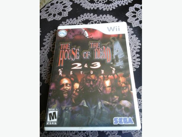 The House of the dead 2&3 Wii game