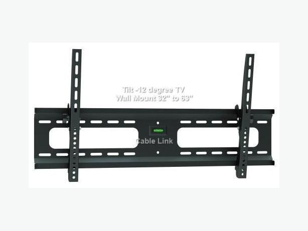 "New Tilt 37""-63"" LCD TV TygerClaw Wall Mount LCD3401"