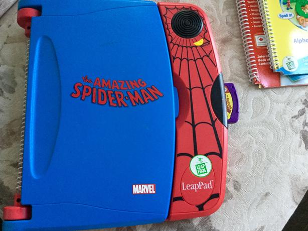 Spiderman LeapPad Learning System